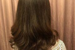 short hair perm